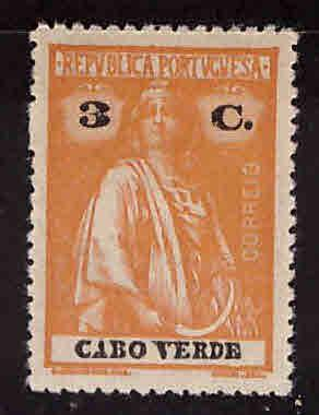 Cape Verde Scott 169 MH* Ceres stamp