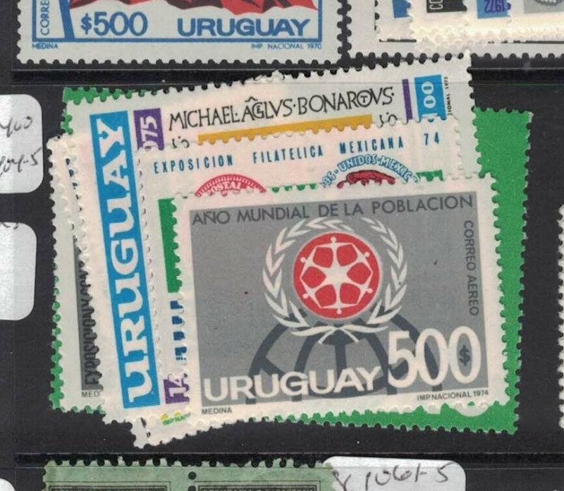 Uruguay SC C399-400, C402, C404-5, C408 MOG (2dup)
