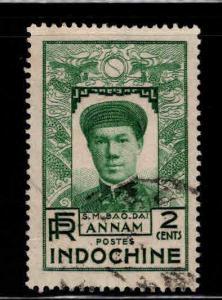 Indo-China Scott 172 Used Annam stamp