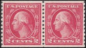 455 Mint,OG,NH... Pair... PSE Graded XF 90... SMQ $90.00