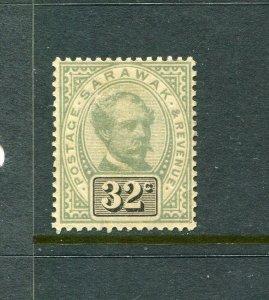 Sarawak #19 Green 32c (Mint Hinged)