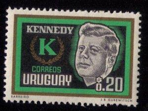 Uraguay (1965) Scott #714 MH F-VF
