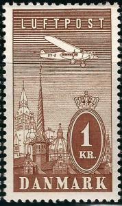 Denmark Sc C10 F-VF Mint OG...Grab a Bargain!