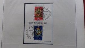 Germany 1973 Stamp Exhibition IBRA Munich 73