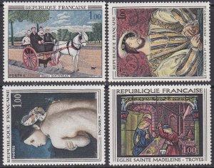 France Sc #1172-1175 MNH