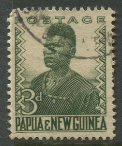 STAMP STATION PERTH Papua New Guinea #126 General Issue  Used 1952 CV$0.25