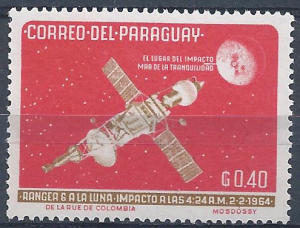 Paraguay - SC#817 - MNG - SCV$0.25 - Space