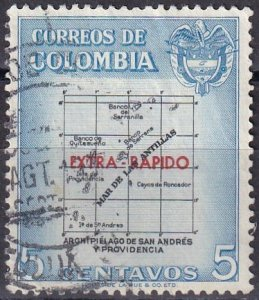 Colombia #C289  F-VF Used  CV $3.25  (Z6278)