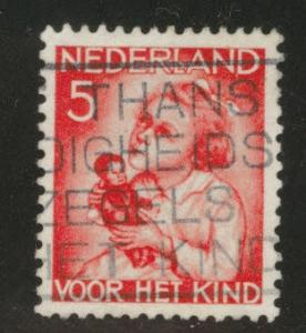 Netherlands Scott B74 used 1934 semi-postal
