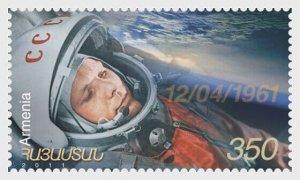 2011   ARMENIA -  SG:777  - GARGIN SPACE FLIGHT 50TH ANNIV. - UNMOUNTED MINT