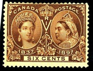 Canada #55 MINT DIST OG HR