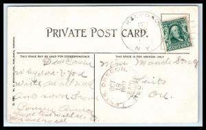 GOLDPATH: US POSTCARD 1907, REDFORD, N.Y. _CV34_P9