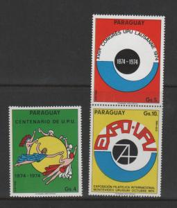 PARAGUAY NH STAMPS MINI SHEET 23 0518