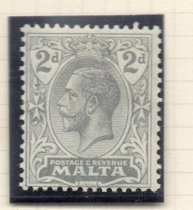 Malta 1921-22 Early Issue Fine Mint Hinged 2d. 321523