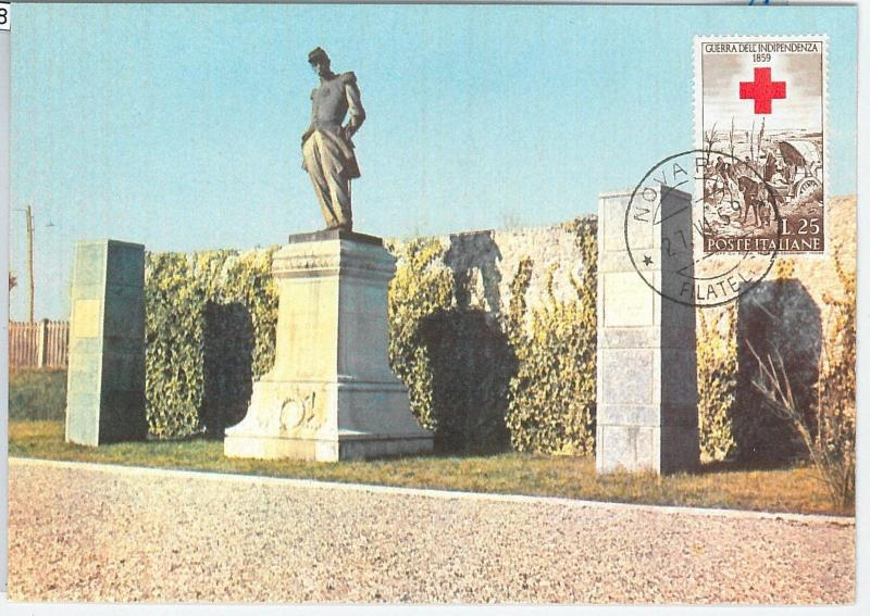 59128  -  ITALY - POSTAL HISTORY: MAXIMUM CARD 1959  -  MILITARY Red Cross