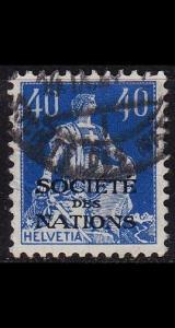 SCHWEIZ SWITZERLAND [SDN] MiNr 0008 ( O/used )