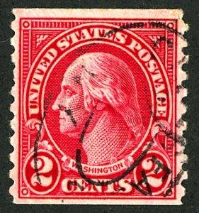 U.S. #599 USED