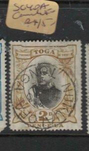 Tonga SG 40a See Cancel VFU (5dyt)