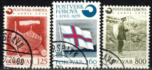 Faroe Islands #21-3  F-VF Used CV $2.95 (X5635)