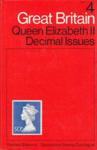 Stanley Gibbons Great Britain Vol 4: QEII Decimal Issues, First Edition, used