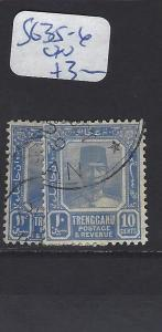 MALAYA TRENGGANU   (P0807BB)  SULTAN  8C, 10C  SG 35-6   VFU