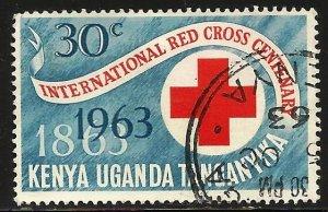 Kenya, Uganda & Tanzania 1963 Scott# 142 Used