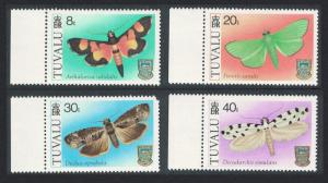 Tuvalu MNH 149-52 Moths
