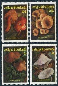 Antigua 958-961,MNH.Michel 973-976. Mushrooms 1986.