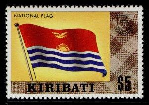 KIRIBATI QEII SG135, $5 national flag, NH MINT.