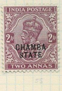 india chamba states- sg 47 -  lmm