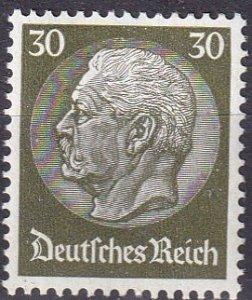 Germany #409  F-VF Unused CV $6.75 (Z2574)