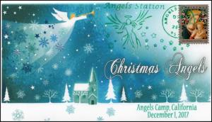 17-415, 2017, Christmas Angels, Angels Camp CA, Pictorial, Event Cover