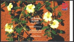 Namibia. 1997. MN 859-63. Flowers, flora. MNH.