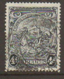 Barbados #198a Used