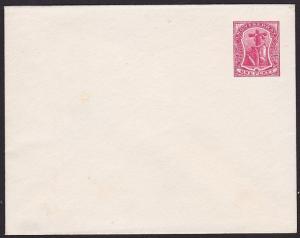 MONTSERRAT 1d envelope unused.............................................1334