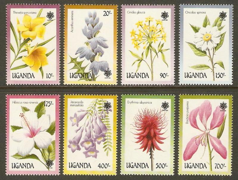 Uganda #757-64 NH Flowering Trees