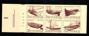 Sweden  1671a   MNH cat $12.00  aaa complete booklet