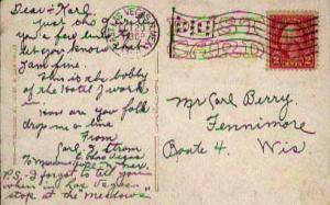 United States, 1922 Fourth Bureaus, Flags, Machine Cancel, New Mexico