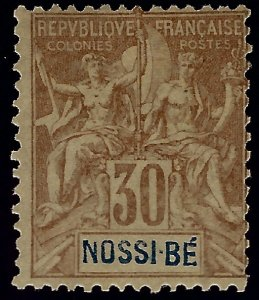 Nossi Be Sc #40 Mint F-VF...French Colonies are in Demand!