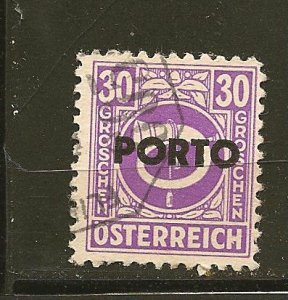 Austria J198 Postage Due Used