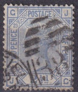Great Britain #82 Plate 23  F-VF Used  CV $32.50 (Z4406)