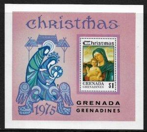 Grenada, Grenadines #136 MNH S/Sheet - Christmas Painting