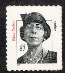 3433 Edna Ferber US Single Mint/nh (Free Shipping)