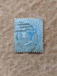 Mauritius 25 VF, CV $60