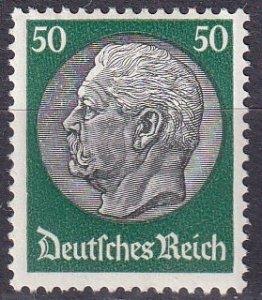 Germany #411  F-VF Unused CV $15.00 (Z2576)
