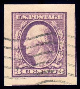 MOMEN: US STAMPS #483 USED PSE GRADED CERT GEM-100