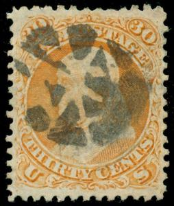 momen: US Stamps #71 Used VF/XF+