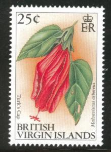Virgin Islands  Scott 699 1991 MNH** Flower stamp