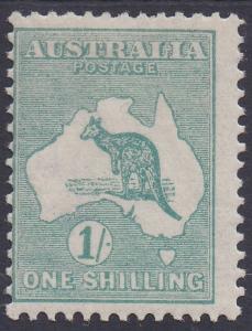 AUSTRALIA 1915 KANGAROO 1/- 3RD WMK