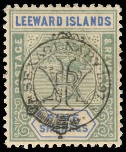Leeward Islands Scott 16 Gibbons 16 Mint Stamp